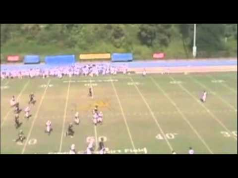 Jeremy Franklin #80 WR JCSU Highlights
