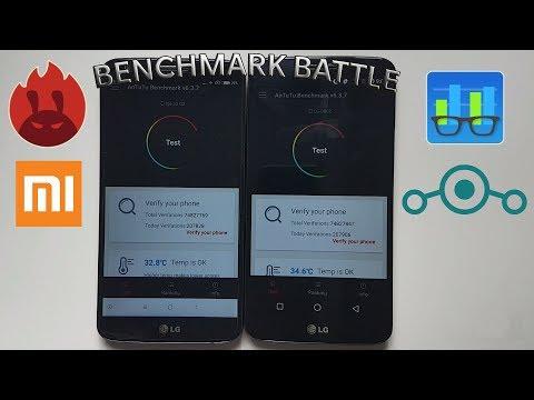MIUI VS Lineage OS - AnTuTu Benchmark & Geekbench Comparison!