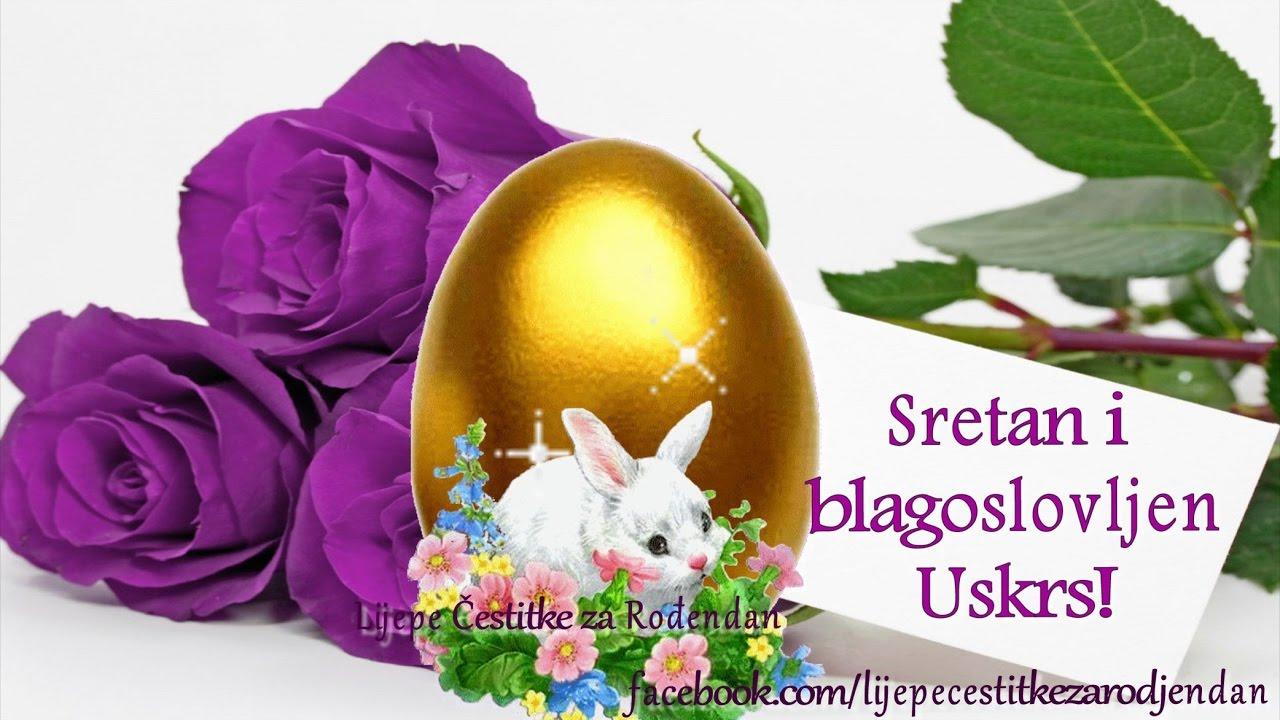 lijepe cestitke za uskrs Sretan i blagoslovljen Uskrs   YouTube lijepe cestitke za uskrs