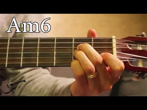 Am6 Chord on Guitar