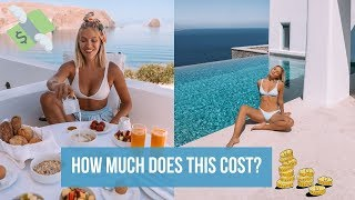 HOW MUCH $ DOES A DAY ON A GREEK ISLAND COST? Milos, Greece