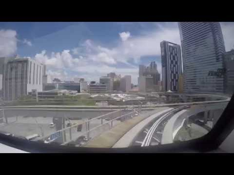 Miami - The Metromover - 3 Loops Timelapse