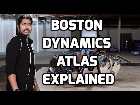 Boston Dynamics Atlas Explained