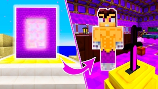 HOW TO MAKE A PORTAL TO VEGETTA777 DIMENSION IN MINECRAFT