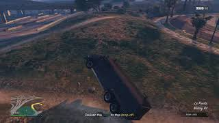 Grand Theft Auto V - Fire Police Swat Thing Doesn't Like Rocks