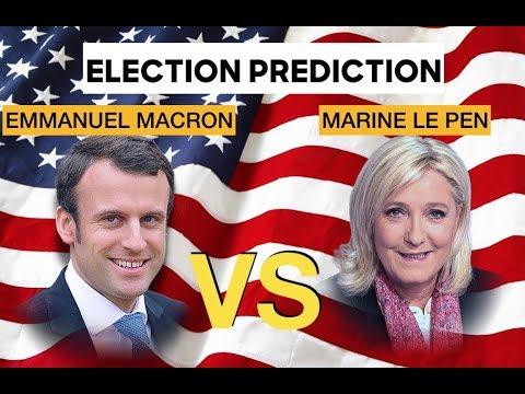Emmanuel Macron vs Marine Le Pen | Election Prediction
