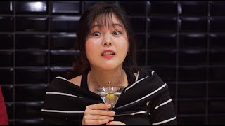 Koreans Try Cocktails