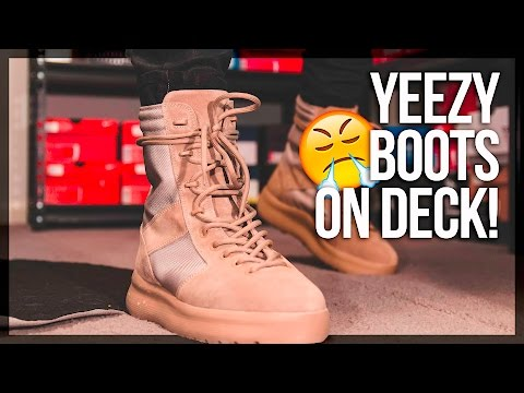 $650 YEEZY SEASON 3 BOOTS Vs $100 BROKE BOI BOOTS