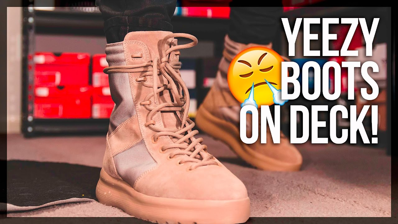 459cc330c  650 YEEZY SEASON 3 BOOTS vs  100 BROKE BOI BOOTS - YouTube
