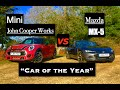 2016 Mazda MX-5 vs Mini John Cooper Works - Inside Lane