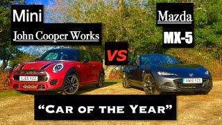 2016 Mazda MX-5 vs Mini John Cooper Works - Inside Lane
