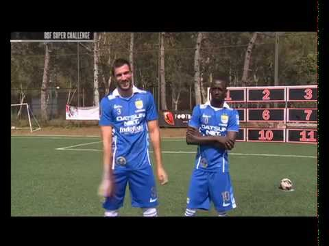 One Stop Football Super Challenge Konate vs Vujovic