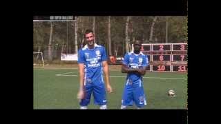 one stop football super challenge konate vs vujovic