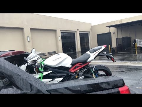 Triumph Daytona Purchase and Review Part