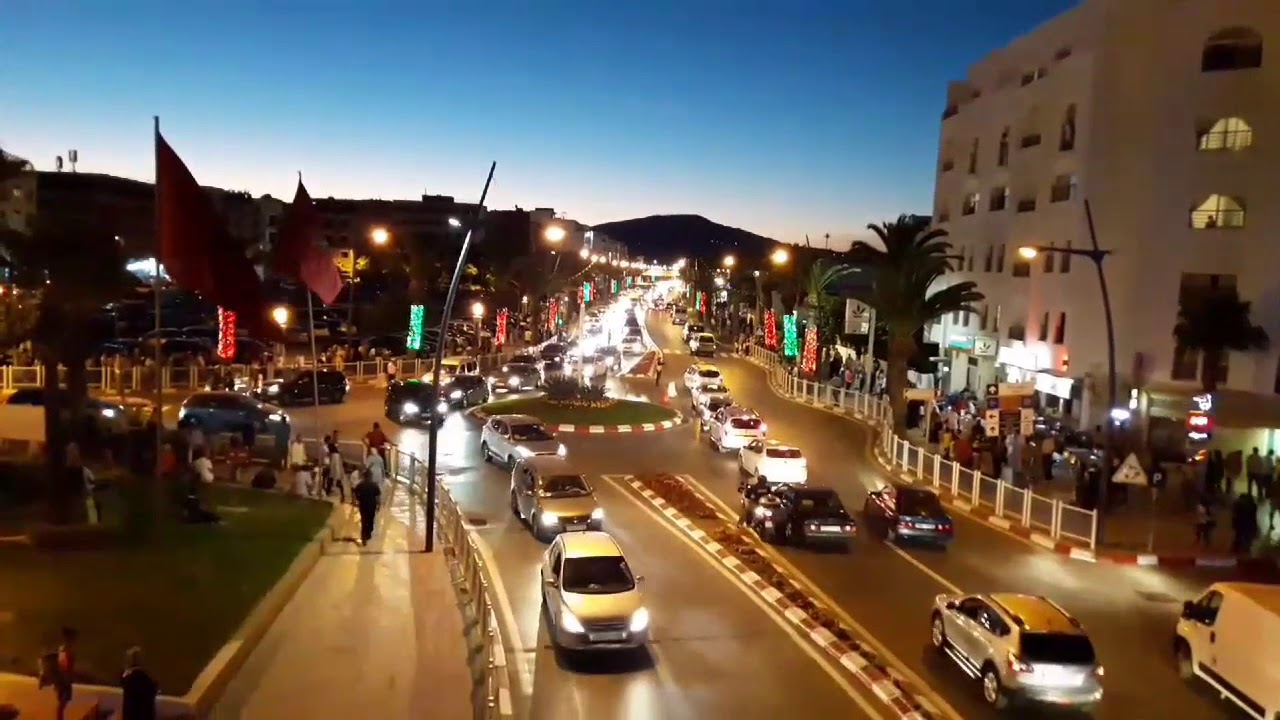 مدينة المضيق ليلا بتاريخ 31 يوليوز 2018 Ville Rincon - YouTube
