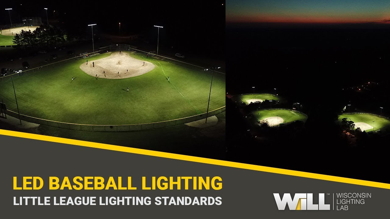 Recreational Baseball Field Lighting Packages Professional