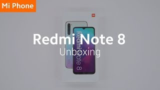 Redmi Note 8: Unboxing