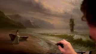 Александр Южаков морской пейзаж