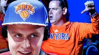 Knicks Draft Kristaps Porzingis...and Twitter Hates It