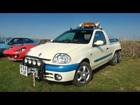 YouTuber captures bizarre Renault Clio pickup