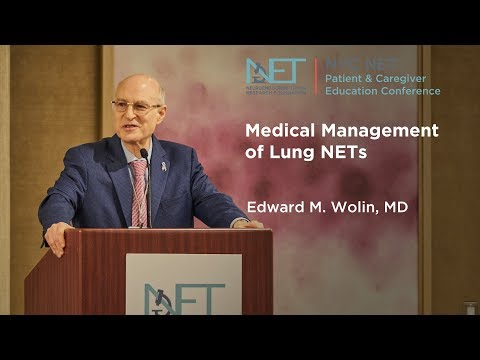 Medical Management of Lung NETs, Ed Wolin, MD, Mount Sinai, NY