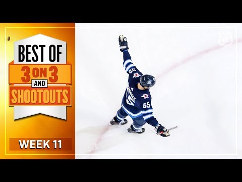 Best 3-on-3 and Shootout Moments from Week 11