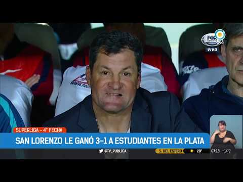 Superliga: Estudiantes 1 - 3 San Lorenzo