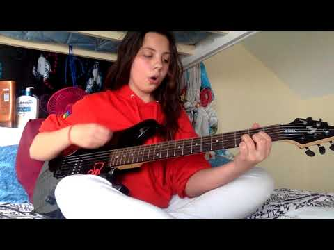 electric guitar Green day boulavard of broken dreams