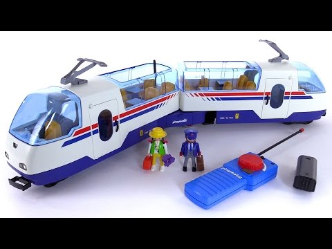Playmobil radio controlled express train from 1997 set - Train playmobil ...