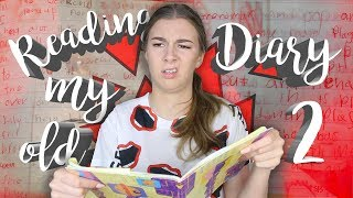 READING MY OLD DIARY PART 2 || Georgia Productions