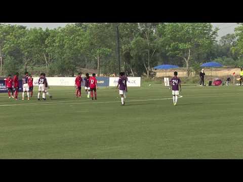U-14 ADFT 2016/17 Match Cambodia Football Academy VS Bangkok Christian College