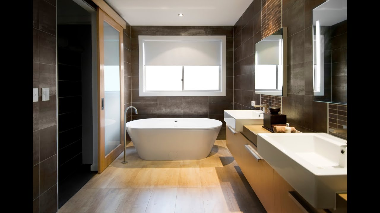 luxury interior design for your bathroom youtube - Interior Designer Bathroom