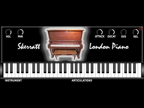 Download Free Upright piano plug-in: Skerratt London Piano