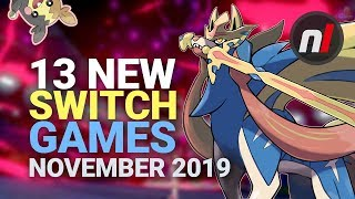 13 Exciting New Games Coming To Nintendo Switch - November 2019