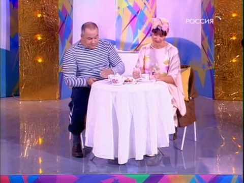11 Игорь Маменко + С Рожкова У телевизора