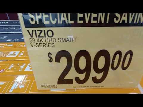 VIZIO V SERIES 58 INCHES 4K HDR SMART TV