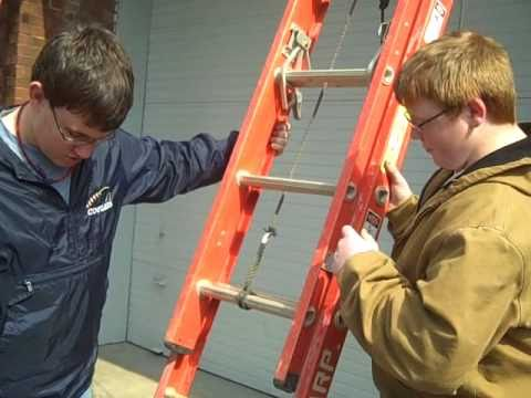 How To Use An Extension Ladder Safely Doovi