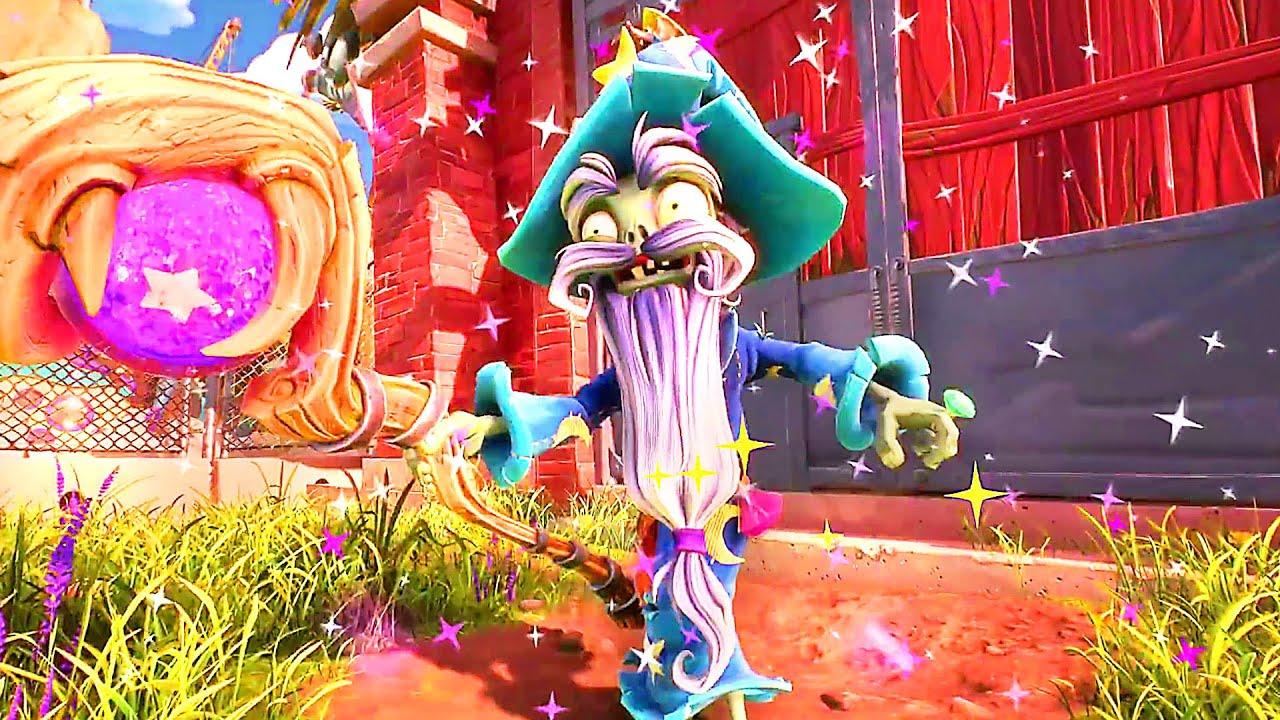 PLANTS VS ZOMBIES: BATTLE FOR NEIGHBORVILLE FESTIVAL Trailer (2020) PS4 / Xbox One / PC + vídeo