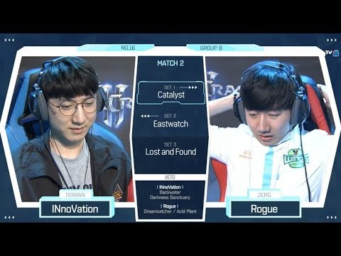 [2018 GSL Season 2] Code S Ro.16 Group B Match2 INnoVation vs Rogue