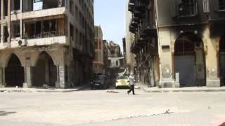 Das zerstörte Homs, Syrien Juni 2014