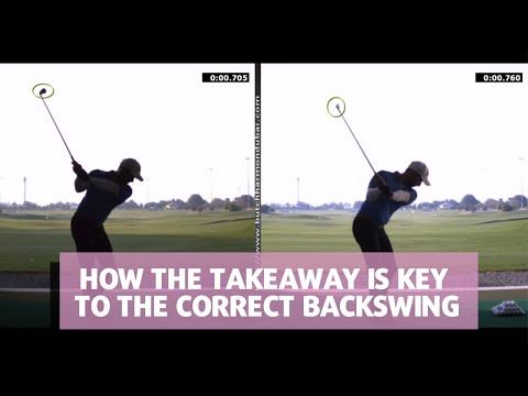 HOW THE TAKEAWAY IS KEY TO THE CORRECT BACKSWING