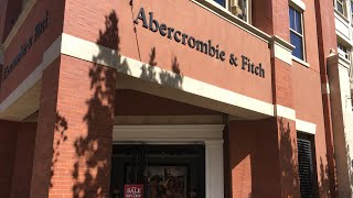 Abercrombie and Fitch, woman's only Store walk-through with Rebecca J Ray