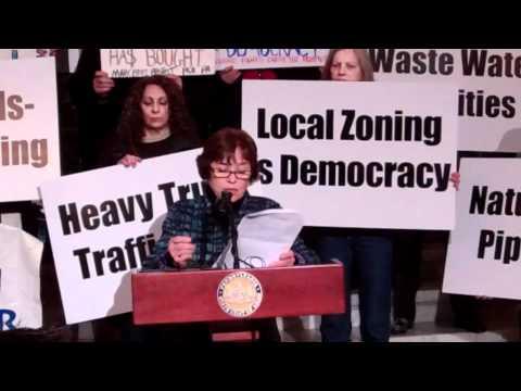 Challenging gas zoning loss in Harrisburg Diane Dreier