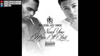 Chris Brown x Diggy - I Need You (Make It Last) [Start It Slow x Honestly Mashup]