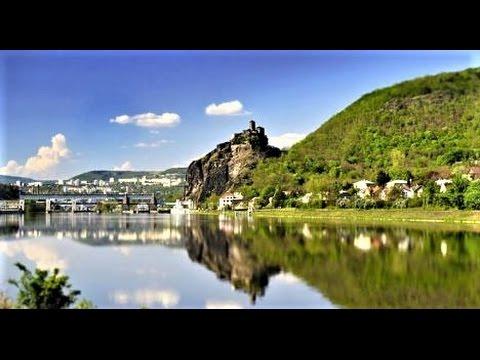 Castle Střekov, Ústí nad Labem, Czech Republic from Travel with Iva Jasperson