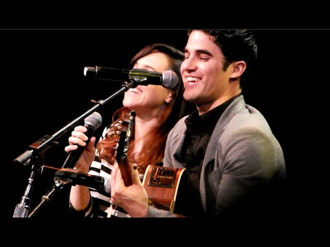 Darren Criss and Lena Hall perform Sugar Daddy (Acoustic) HD