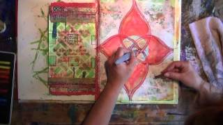 Drawing and journaling my Root Chakra