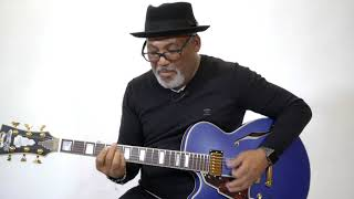 Jonathan Butler Jamming On The Deluxe SS | D'Angelico Guitars