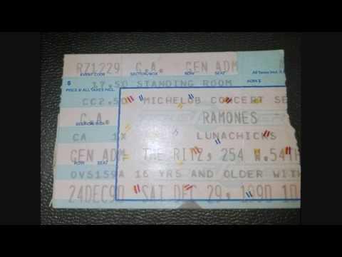 Ramones - The Ritz (New York City 29-12-1990)