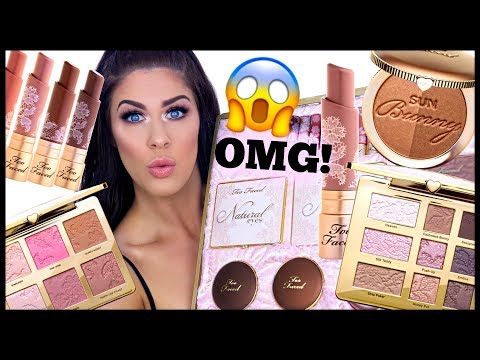 NEW TOO FACED NATURAL NUDE COLLECTION!!! HIT OR MISS!!??